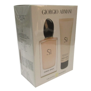Armani Si Edp Spray 100ml + Body Lotion 75ml Set