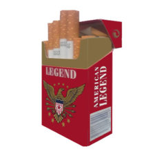 3 Cartons American Legend Red