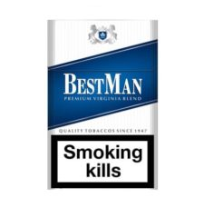 2 Cartons Best Man Original Blue 100's