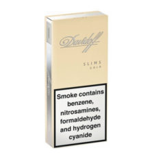 2 Cartons Davidoff Gold Slims (400 cigarettes)