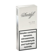 2 Cartons Davidoff White Slims