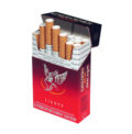 6 Cartons Gauloises Blondes Red (400 cigarettes)