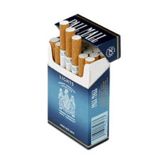 6 Cartons Pall Mall Blue (400 cigarettes)