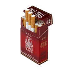 3 Cartons Pall Mall Filter Red (400 cigarettes)