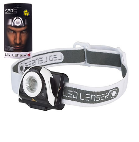 Led Lenser Se05 Headlamp Series Gray