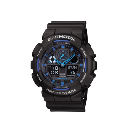 Casio  Watch G Shock GA100 1A2