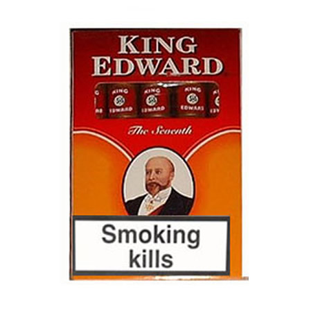 King Edward Filtered Regular Cigars (10 x 20 Cigars)