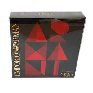 Emporio Armani Stronger With You Set Men's Edt 50ml + 2 x 75ml All Over Body Shampoo