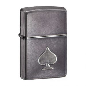 Zippo Lighter Stamped Spade